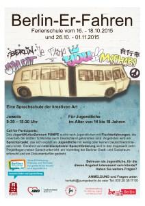 Flyer Ferienschule Herbst 2015 Versand