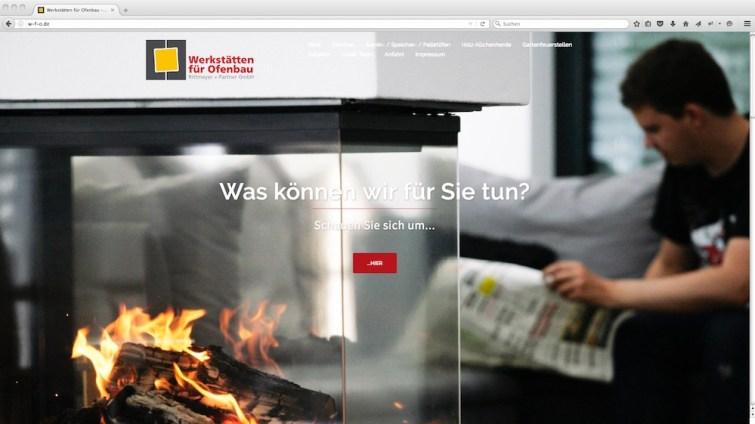 Startseite Web
