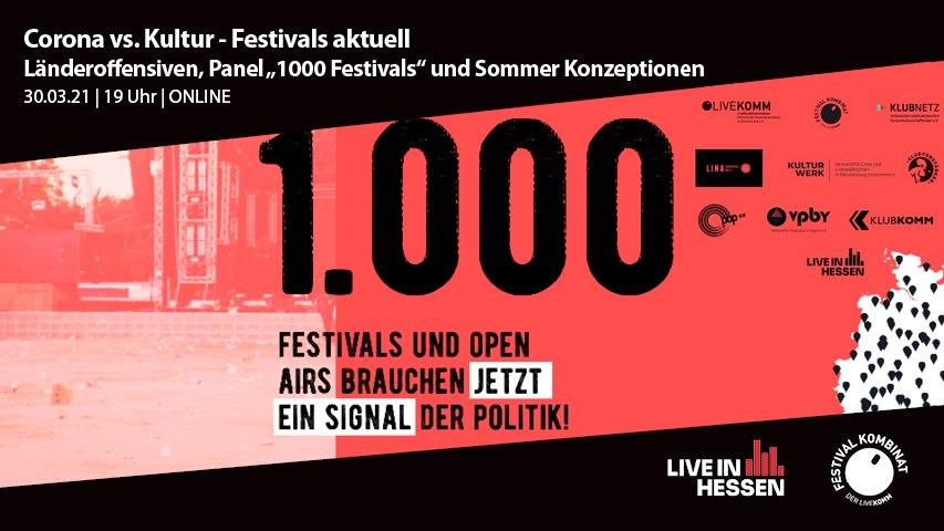 1000 Festivals 2021