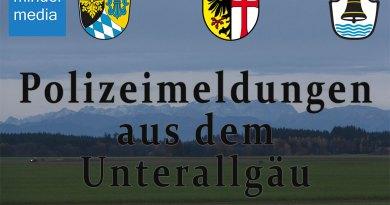 Memmingen & Unterallgäu: Meldungen vom 25.01.2021