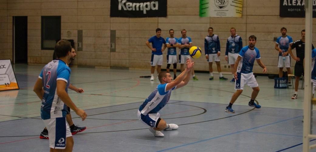Regionalliga-Volleyballer vor richtungsweisendem Spiel