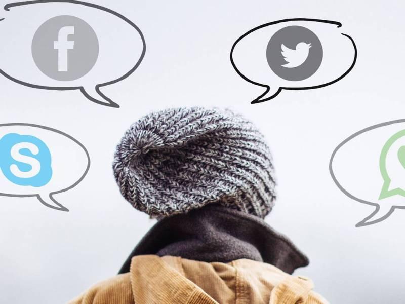 Soziale Netzwerke wie Twitter haben mit echter Kommunikation nichts zu tun.