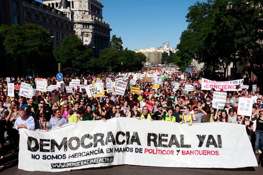 Auch in Spanien verstärkt sich der zivilgesellschaftliche Widerstand gegen Spardiktate und die Aushöhlung der Demokratie.