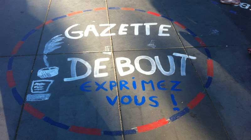Neue Debatte mit Gazette Debout