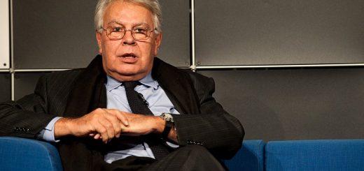 Felipe Gonzalez ist in Spanien die graue Eminenz der Sozialisten. (Foto: Das Blaue Sofa / Club Bertelsmann; flickr.com; Lizenz: CC BY 2.0).