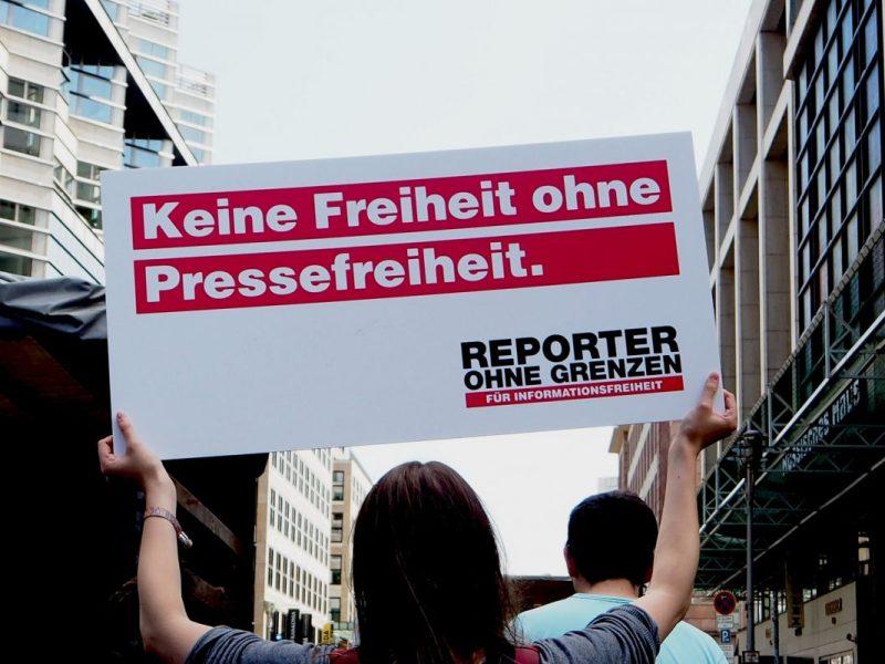 Gebt verfolgten Journalisten Digitales Exil!