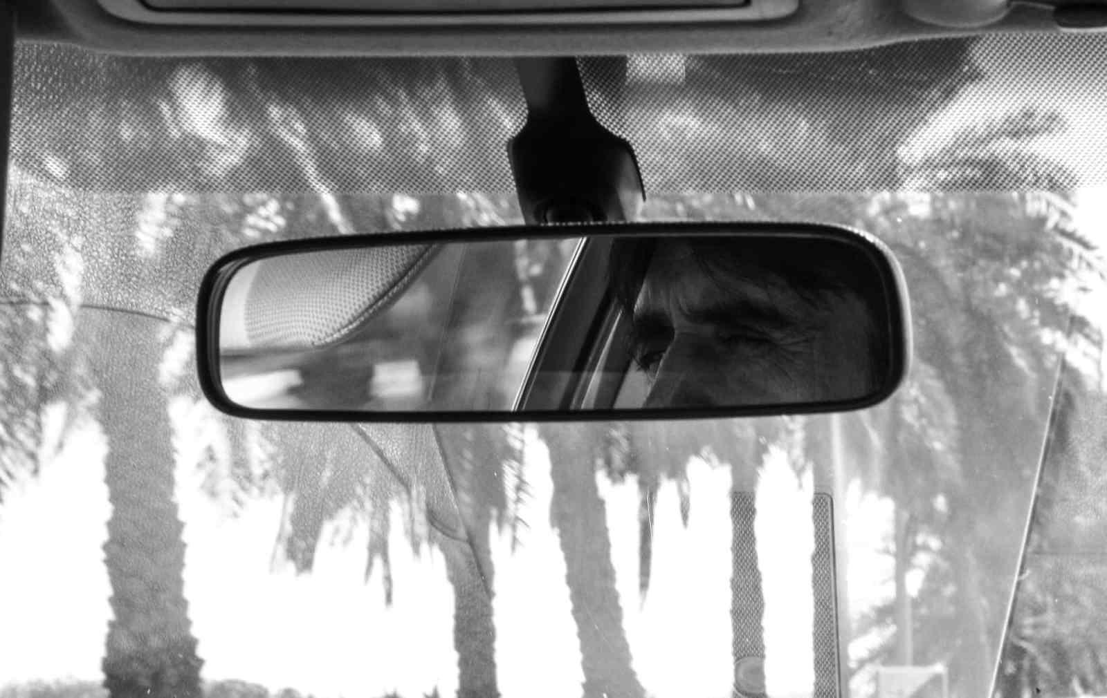 Autofahrer im Rückspiegel. Neue Debatte Beiträge im Januar 2017.