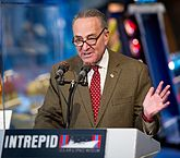 Charles Chuck Schumer bei einer Rede im Dezember 2011.