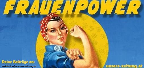 Aktion zum Internationalen Frauentag.