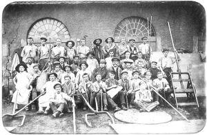 Walzer der Dillinger Hütte um 1900.