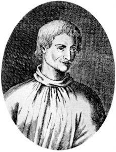 Giordano Bruno wurde 1600 in Rom verbrannt.