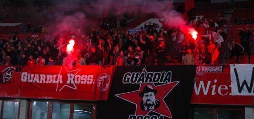 Ultras der Guardia Rossa - Unsere Zeitung