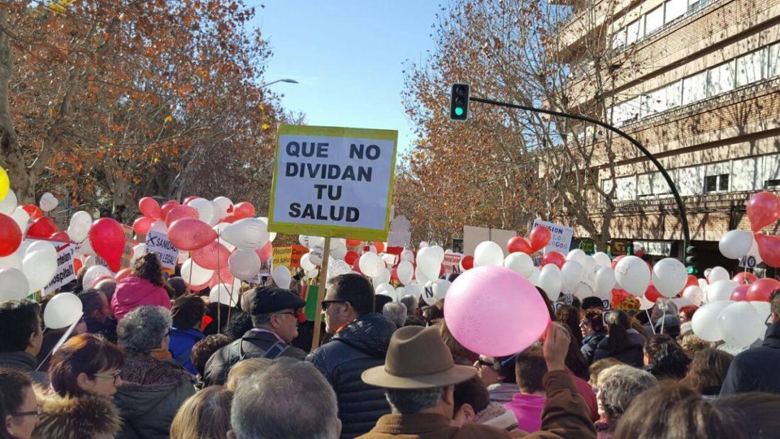 Protestmarsch Granada 2017