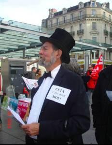 Manifestation contre la corruption von Nuit Debout
