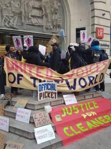 Die Gewerkschaft UVW Union mobilisiert zum Streik an der London School of Economics. (Foto: UVW)