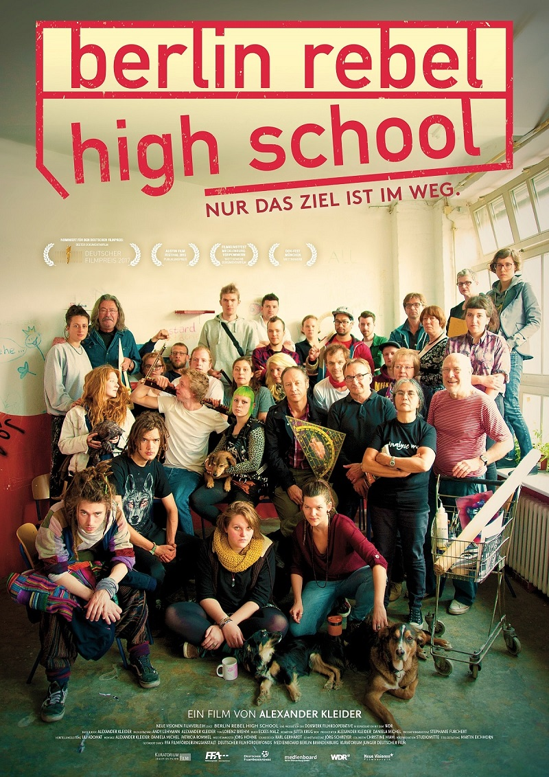 Berlin Rebel High School Filmplakat © Neue Visionen Filmverleih