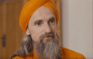 Dada Madhuvidyananda im Gespräch mit Bilbo Calvez (Bärensuppe)