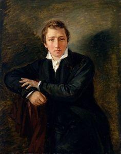 Heinrich Heine (Gemälde von Moritz Daniel Oppenheim, 1831) - Gemeinfrei
