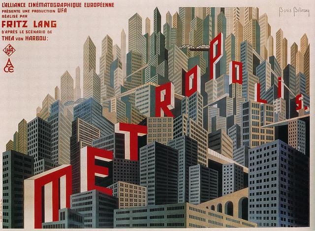 Metropolis -Breve Storia del Cinema; flickr.com; Public Domain Mark 1.0