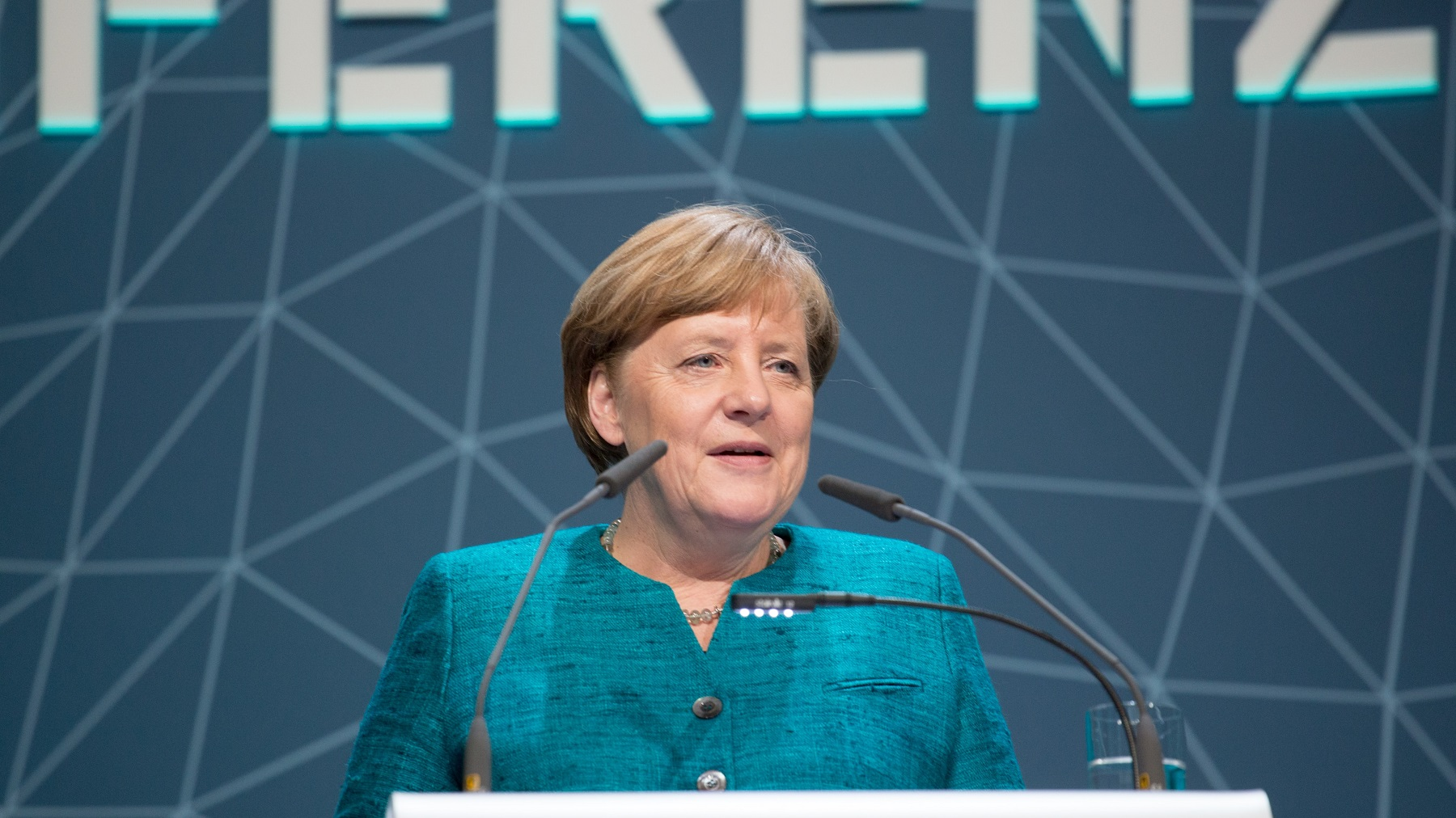 Angela Merkel 2017 - International Maritime Organization - IMO at German National Maritime Conference - CC BY 2.0