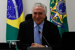 Brasiliens Staatspräsident Michel Temer. (Foto: Marcos Corrêa/PR; CC BY 2.0 Lizenz)