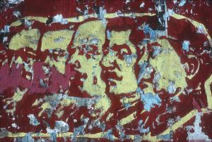 Plakatreste von Marx, Engels, Lenin, Stalin und Mao - Julian Stallabrass - flickr.com - CC BY 2.0