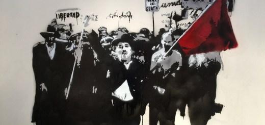 Motiv aus dem Film Modern Times mit Charlie Chaplin. (Foto: Janet Biehl;flickr.com; CC BY-SA 2.0)