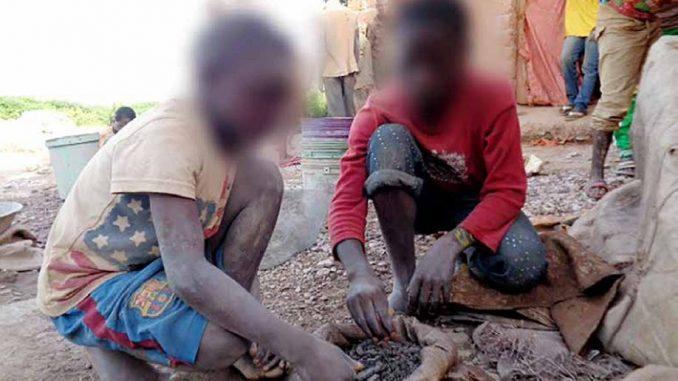 Kinderarbeit als Teil der Kobaltproduktion in der Demokratischen Republik Kongo. (Foto: Amnesty International)