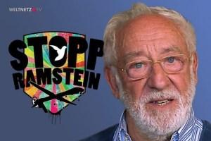 Dieter Hallervorden: Frieden ist eine Geisteshaltung. (Screenshot Weltnetz TV)