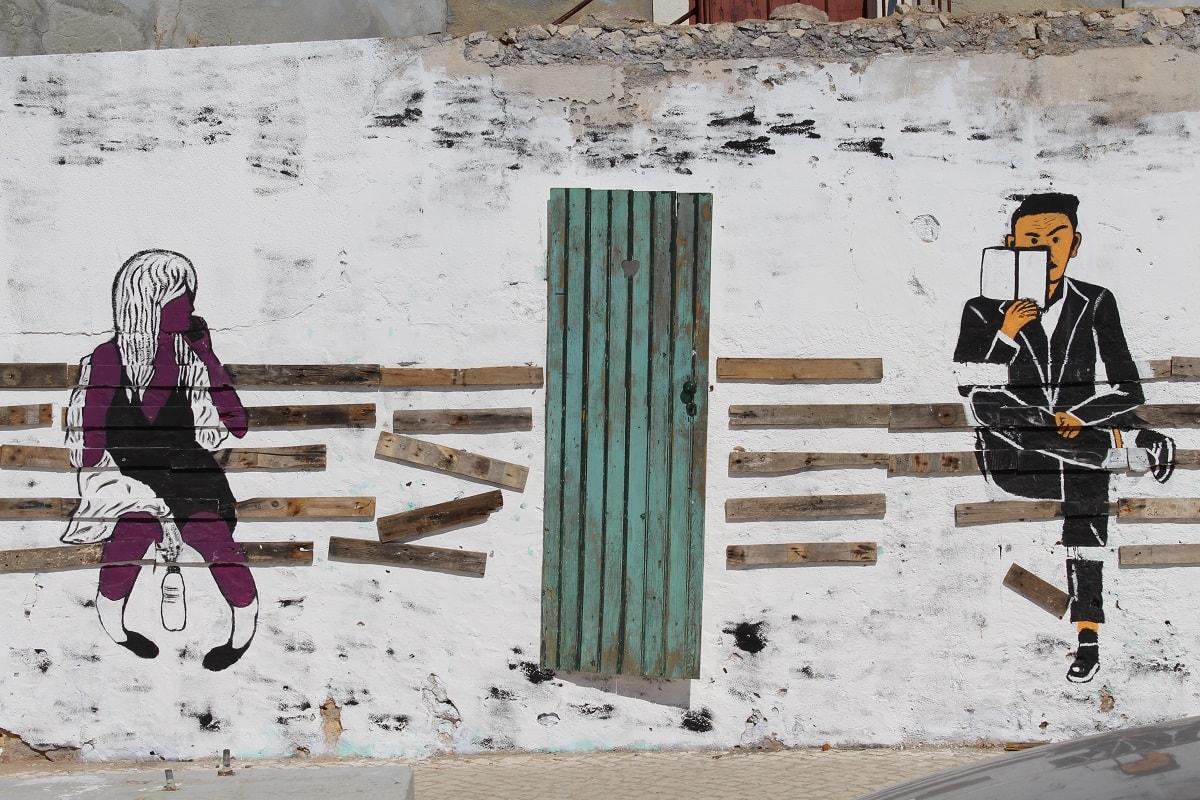 Graffiti in Portugal. (Foto: Juan Alvarez Ajamil, Unsplash.com)