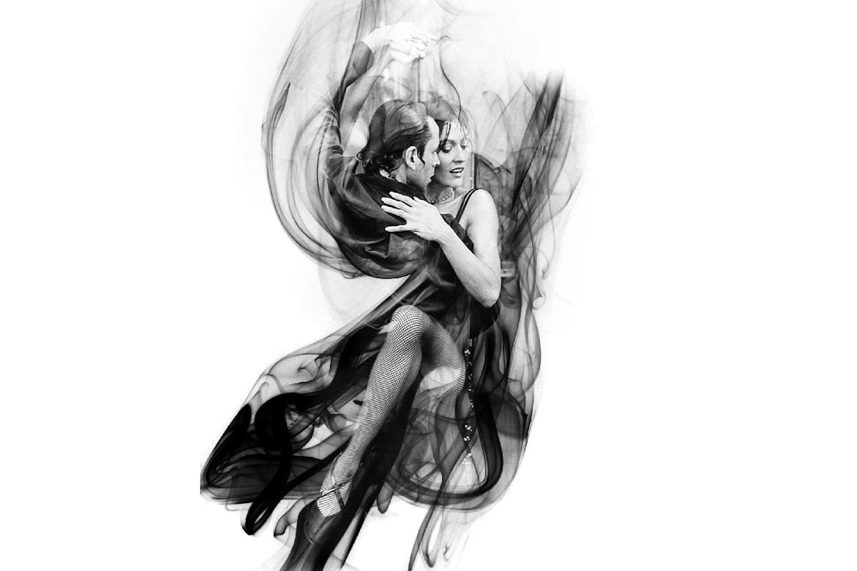 Rauch und Tanz in Argentinien. (Illustration: Sarah Richter Art, pixabay.com,Creative Commons CC0)