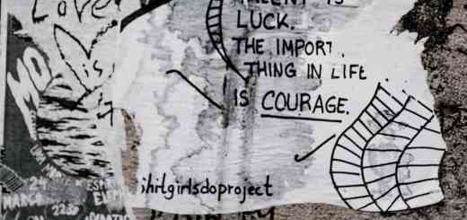 Wallart. Talent is luck. (Foto: Annie Spratt, Unsplash.com)