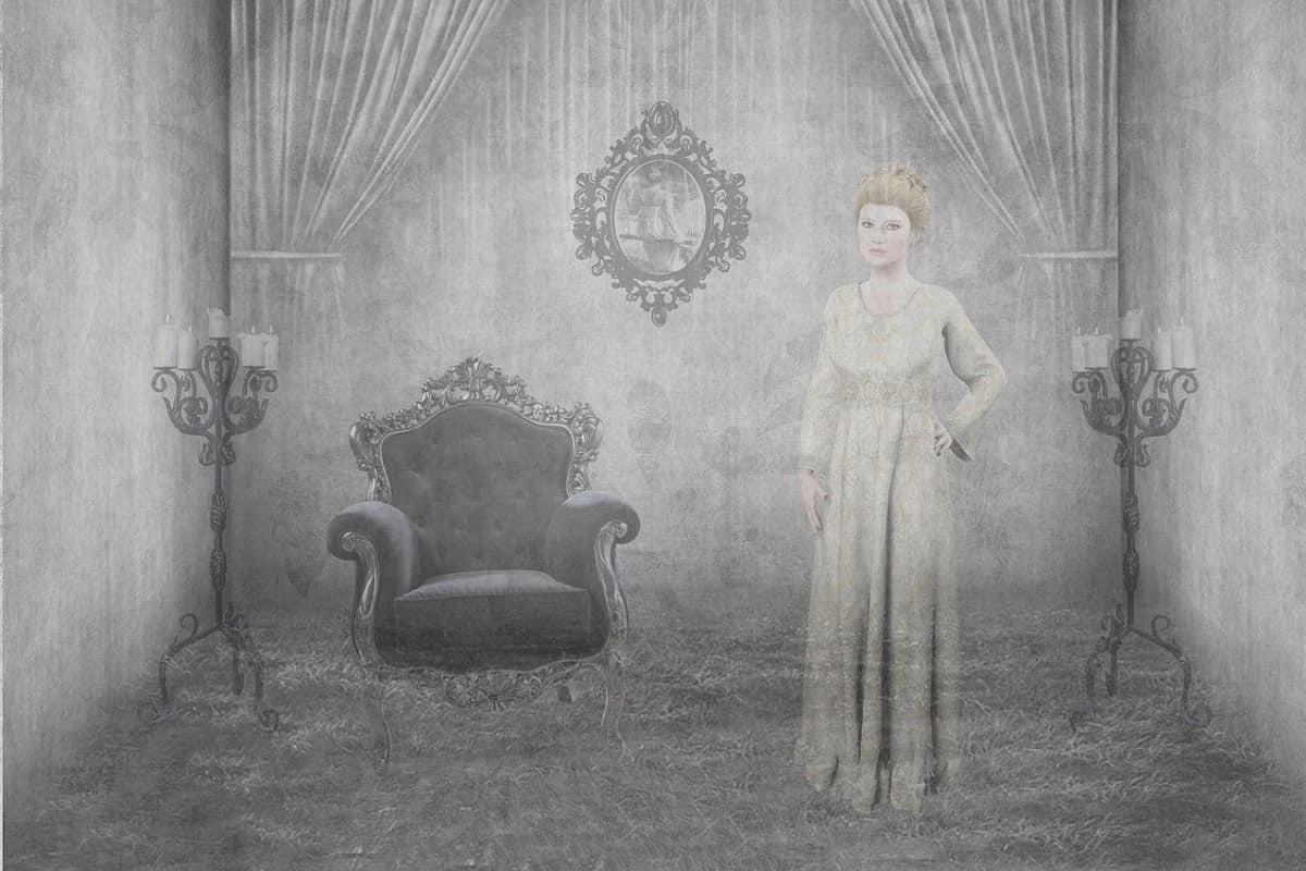 Ein weiblicher Geist. (Illustration: pixel2013, Pixabay.com, Creative Commons CC0)