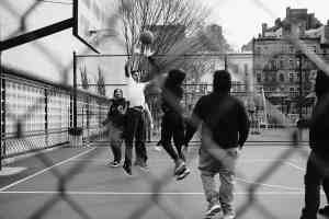 Street Basketball in New York Foto John Branch IV, Unsplash.com
