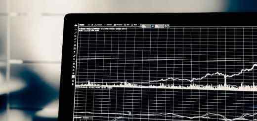 Abbildung eines Charts auf einem Laptop. (Foto: Chris Liverani, Unsplash.com)