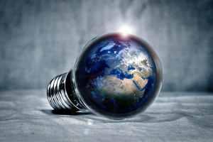 Die Megamaschine Erde. (Illustration: Piro4d, Pixabay.com)