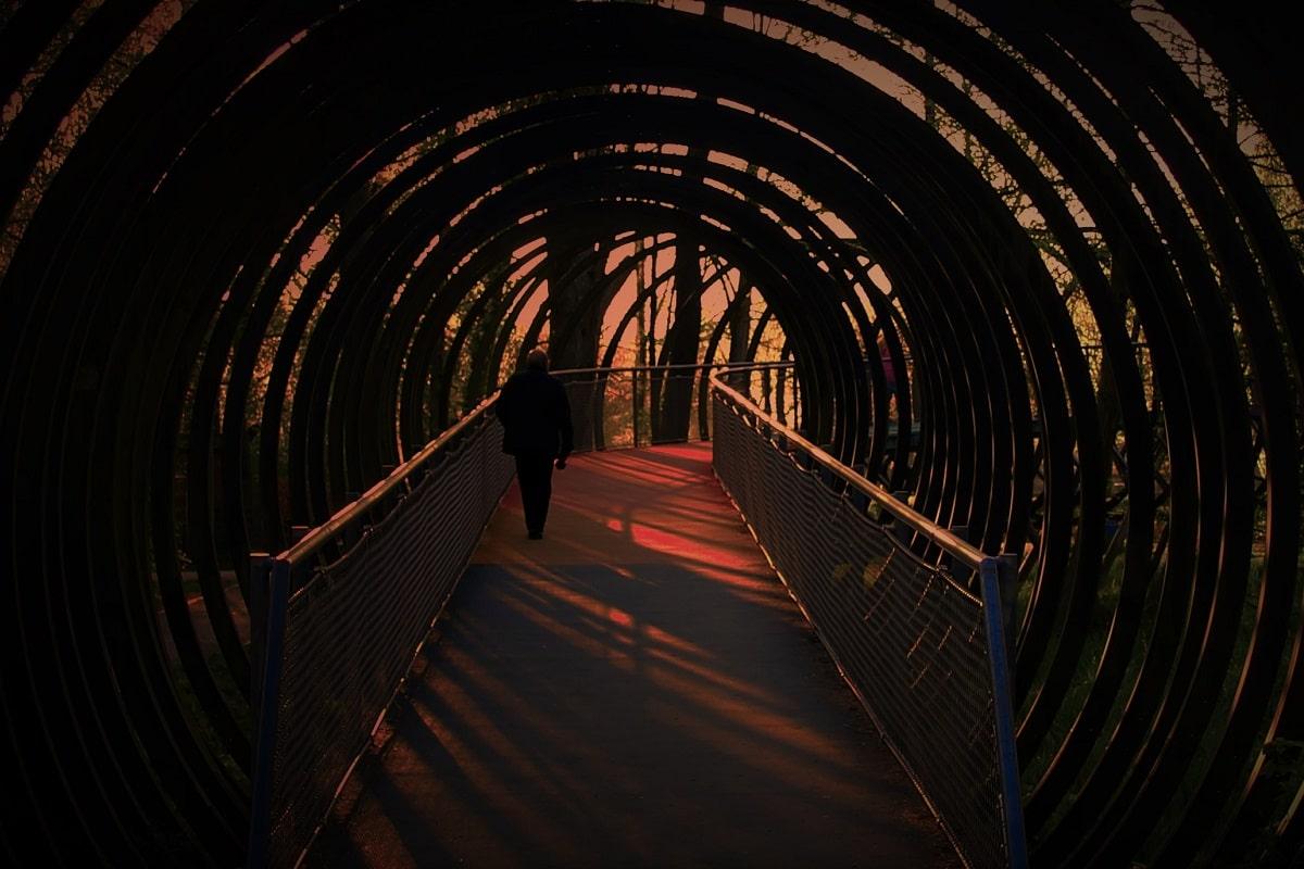 Der Weg durch den Tunnel des Kapitalismus (Foto: Bernadardo Jairo Gomez Garcia)