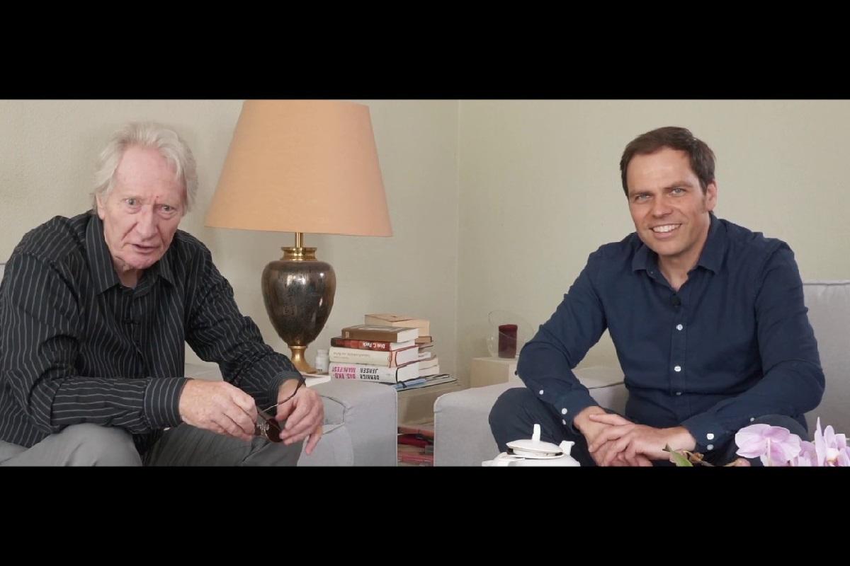 Dirk C. Fleck und Jens Lehrich in Hambürger (Videoformat und Screenshot: ahundredmonkeys)