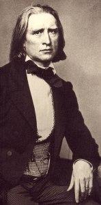 Franz Liszt mit 46 Jahren 1858. (Foto: Franz Hanfstaengl, gemeinfrei)