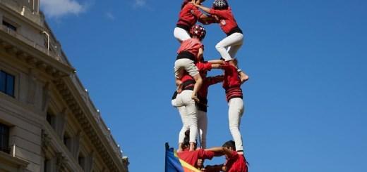 Feiertag in Katalonien. Catalan Diada Human Towers (Foto: Neue Debatte Projekt)