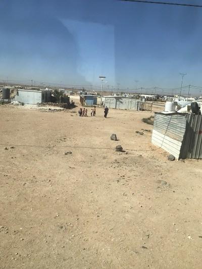 Das Flüchtlingscamp Zaatari, nahe der Grenze zu Syrien. (Foto: Johanna Montanari)