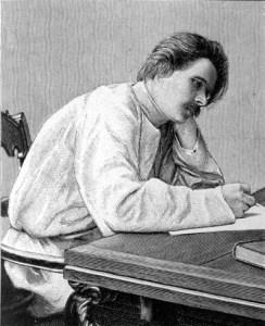 Maxim Gorki (Foto: Bibliothek des allgemeinen und praktischen Wissens 1905)