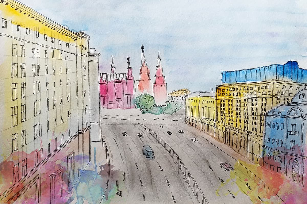 Interview mit Veronika Krasheninnikova in Moskau. (Illustration: Victoria Borodinova, Pixabay.com)