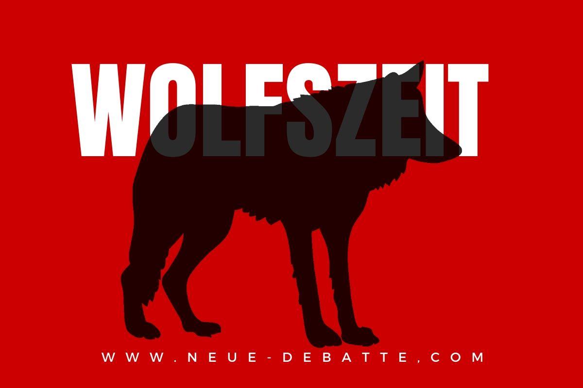 Wolfszeit (Grafik: Neue Debatte)
