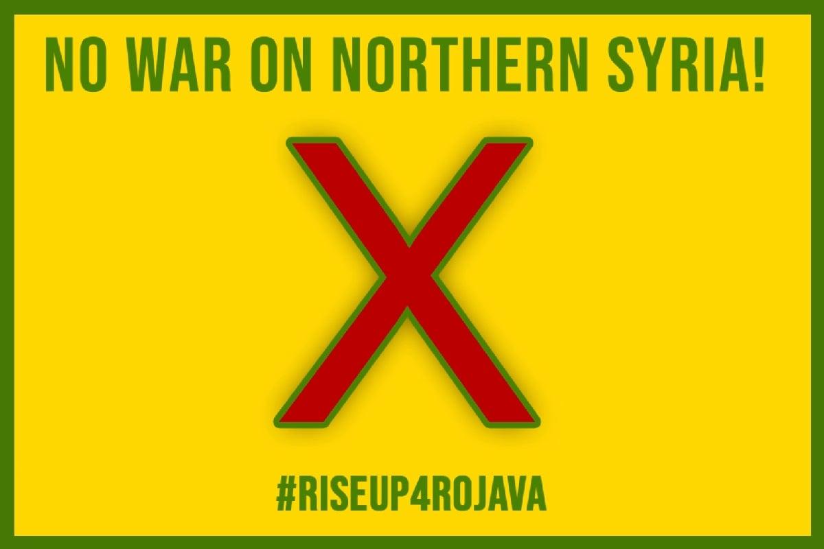 #riseup4rojava und dayX Image. (Foto: riseup4rojava.org)