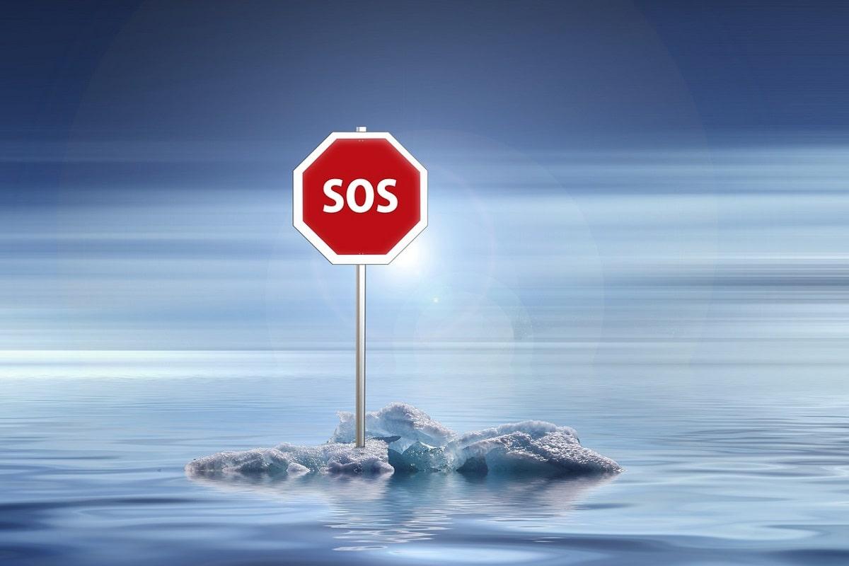 Das Klima funkt SOS. (Illustration: Gerd Altmann, Pixabay.com)