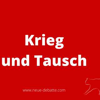 Pierre Clastres Archäologie der Gewalt. Krieg und Tausch. (Illustration: Neue Debatte)