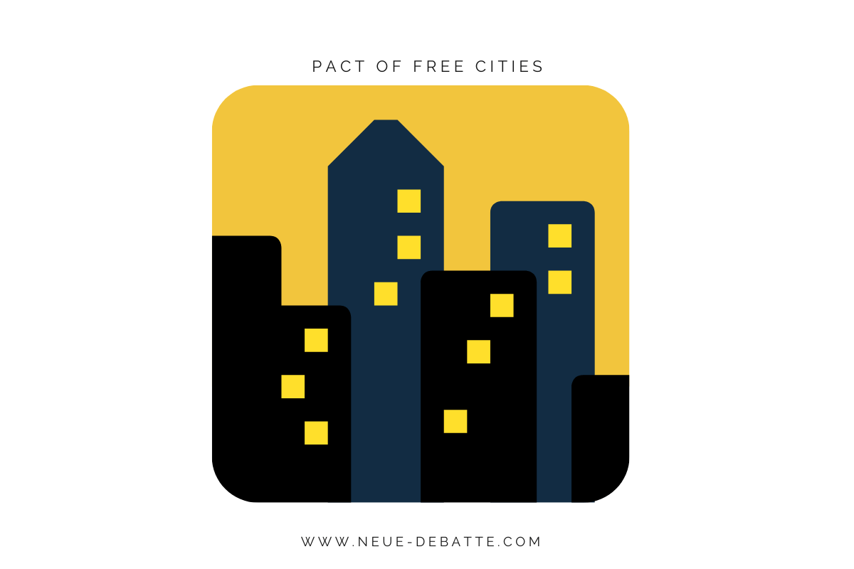 Der Pact of Free Cities ist richtungsweisend für die EU. (Illustration: Neue Debatte)