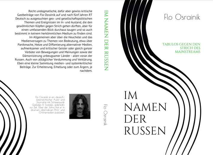 Im Namen der Russen - Taschenbuch. (Cover: Flo Osrainik)