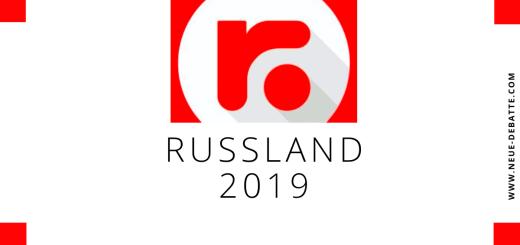 Jahresrückblick 2019 von russland.diret mit Julia Dudnik. (Illustration: Neue Debatte)